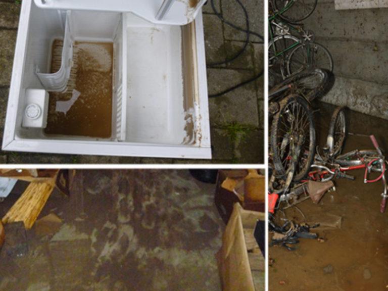 ueberschwemmung-liegenschaft-schmutzwasser-fahrraeder-kuehlschrank-keller-thurgau-2015-800x600px