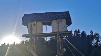 Getränkefässer 200 l im Einsatz beim Sommerlager der Pfadi Hinterthurgau