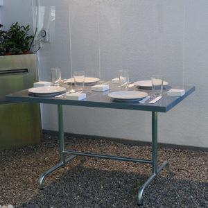 Tisch-Spuckschutz für Restaurants